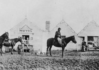 First Kangaroo Ground Hotel c. 1865