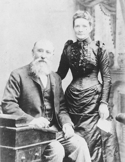 13 John Donaldson and his wife