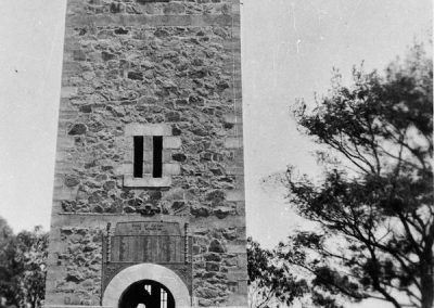 War Memorial Tower at K.G c. 1930s