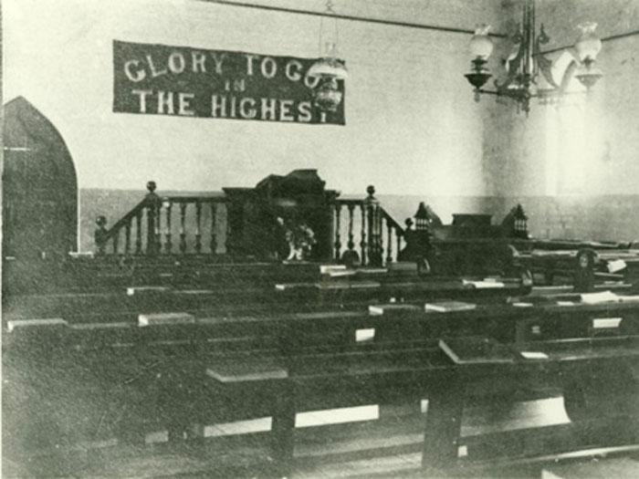 church interior kangaroo ground